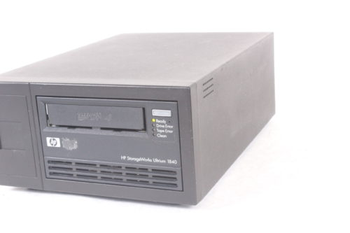 HP StorageWorks LTO-4 Ultrium 1840 SCSI EH854A External Tape Drive - SIDE3