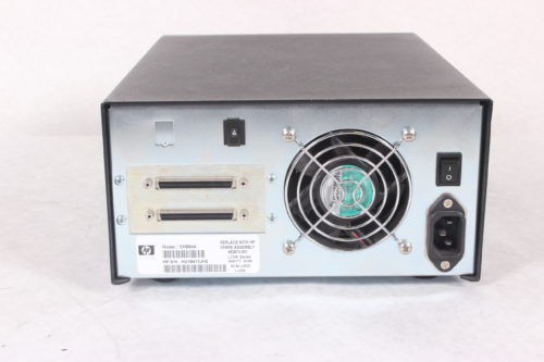 HP StorageWorks LTO-4 Ultrium 1840 SCSI EH854A External Tape Drive -BACK