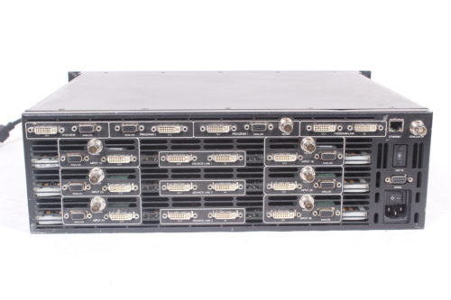 BARCO Encore Video Processor VP-06 with 3 M/Es -back