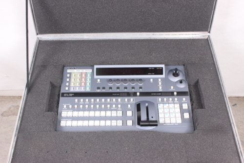 Sony DFS-700A Video Switcher & Control Panel with Case - BOARD IN CASE