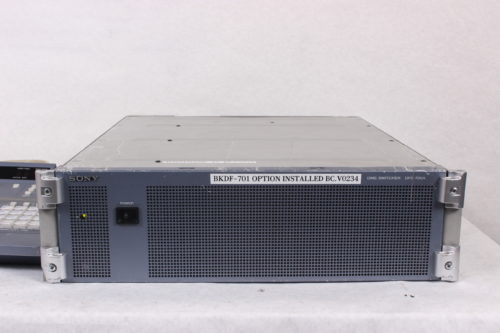 Sony DFS-700A Video Switcher & Control Panel with Case - FRONT