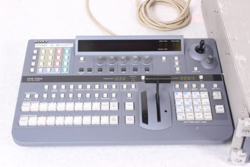 Sony DFS-700A Video Switcher & Control Panel with Case - Board