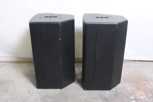EAW JFx100i 2-Way Compact Loudspeaker (Pair) w/ Road Case Side2