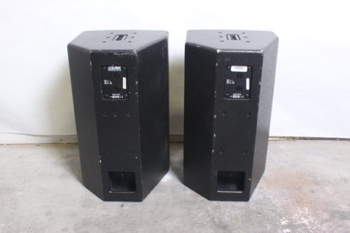 EAW JFx100i 2-Way Compact Loudspeaker (Pair) w/ Road Case Back