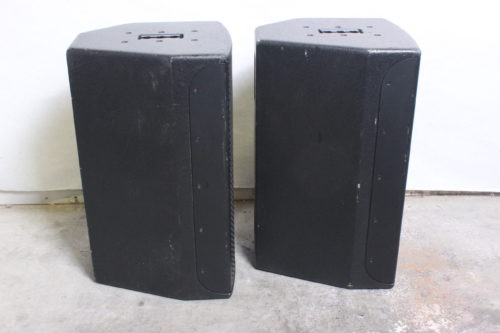 EAW JFx100i 2-Way Compact Loudspeaker (Pair) w/ Road Case Side1