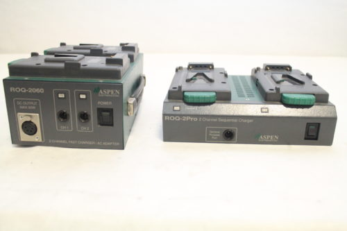 Aspen ROQ-2060Pro Dual Channel Charger/AC Adaptor1