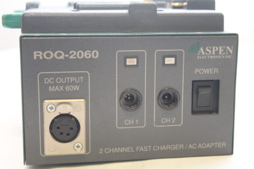 Aspen ROQ-2060Pro Dual Channel Charger/AC Adaptor5