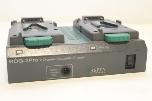 Aspen ROQ-2060Pro Dual Channel Charger/AC Adaptor