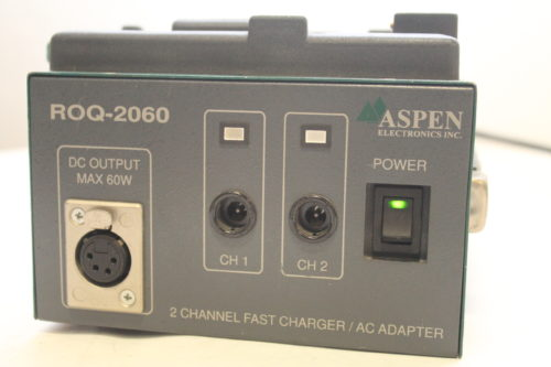 Aspen ROQ-2060Pro Dual Channel Charger/AC Adaptor2