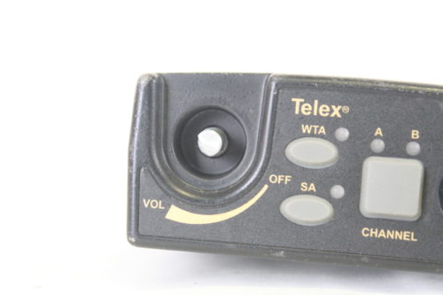 Telex TR-800-E88 UHF Two-Channel Wireless Beltpack - Band E88 (For Parts) Button