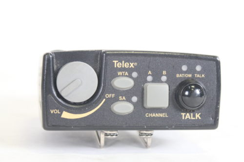 Telex TR-800 2-Channel UHF Transceiver (A4F RTS B4: 536-554MHz Receive/668-686MHz Transmit) front1