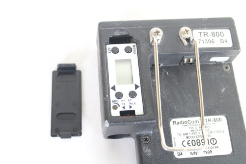 Telex TR-800 2-Channel UHF Transceiver (A4F RTS B4: 518-536MHz Receive/632-650MHz Transmit) rear1