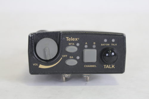 Telex TR-800 2-Channel UHF Transceiver (A4F RTS B4: 518-536MHz Receive/632-650MHz Transmit) front