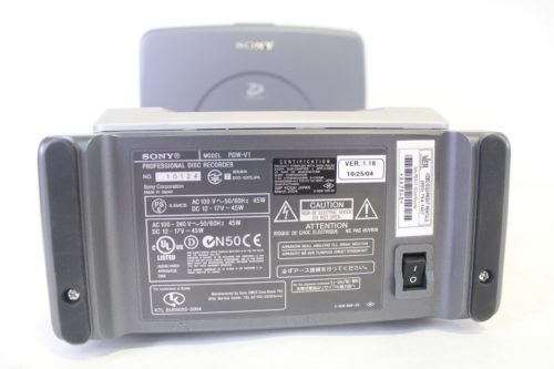 Sony PDW-V1 Mobile XDCAM Player, MPEG IMX/DVCAM, i.LINK compatible Label
