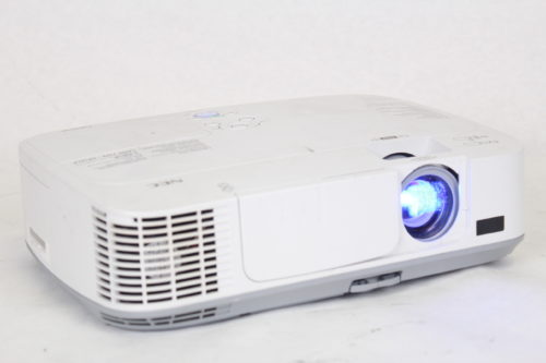 NEC NP-M300W WXGA Portable LCD Projector 2917 Lamp Hours Side2