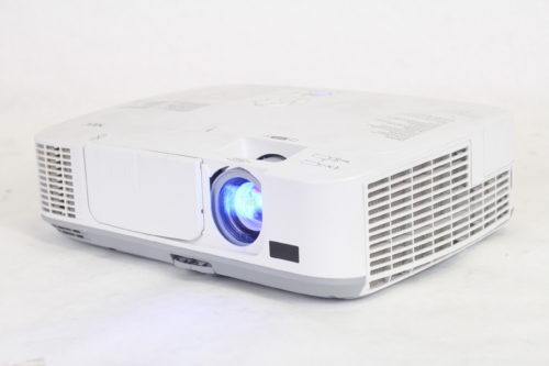 NEC NP-M300W WXGA Portable LCD Projector 2917 Lamp Hours Side1