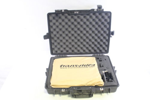 "Transvideo 15"" CineMonitor HD 15 SB Video Monitor case1"