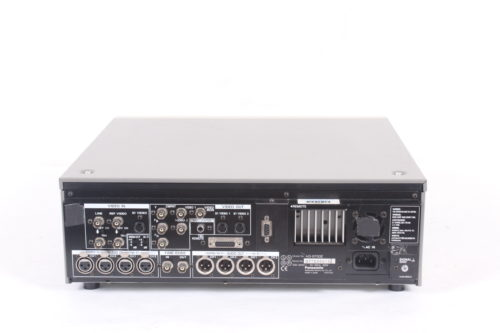 Panasonic AG-8700 Industrial VCR Recorder( For Parts) Back