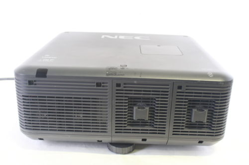 NEC NP-PX750U 7500-Lumen Widescreen Professional Projector w/ Road Case (NO LENS INCLUDED - Read Note) rear1