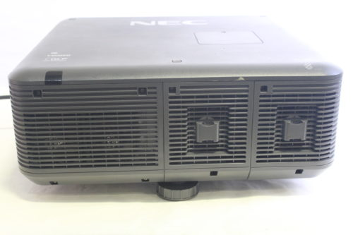 NEC NP-PX750U Widescreen Professional Projector/ 841 Lamp Hours (NO LENS INCLUDED - Read Note) side1