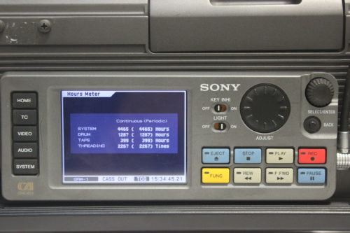Sony SRW-1 SRPC-1 HDCAM SR Portable Digital Recorder w/ HKSR 101 / 103 Boards - 1287 Drum Hrs1