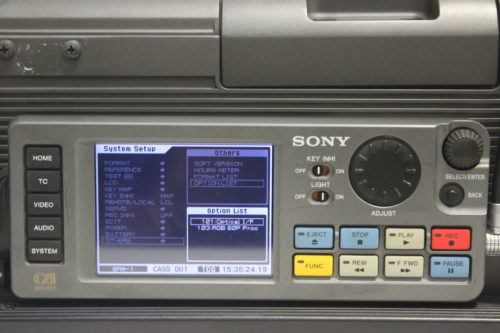 Sony SRW-1 SRPC-1 HDCAM SR Portable Digital Recorder w/ HKSR 101 / 103 Boards - 1287 Drum Hrs2