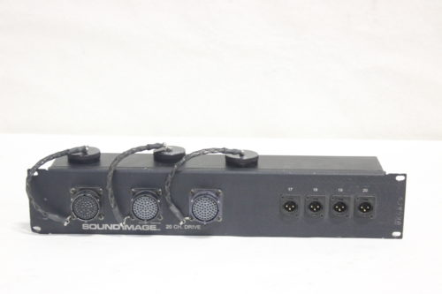 Whirlwind AB60FP - Connector to XLR Sound Image 20 Channel Drive Rack Panel Front