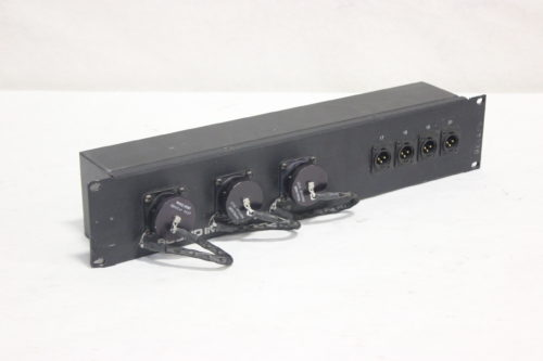 Whirlwind AB60FP - Connector to XLR Sound Image 20 Channel Drive Rack Panel Side2