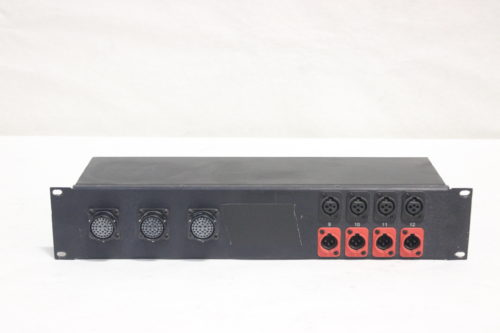 Whirlwind AB39FP – Connector to XLR Sound Image 12 Channel Drive Rack Panel Main