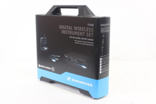 Sennheiser EW D1-CI1 Evolution Wireless D1 Digital Instrument System with CL 1 Instrument Cable Main