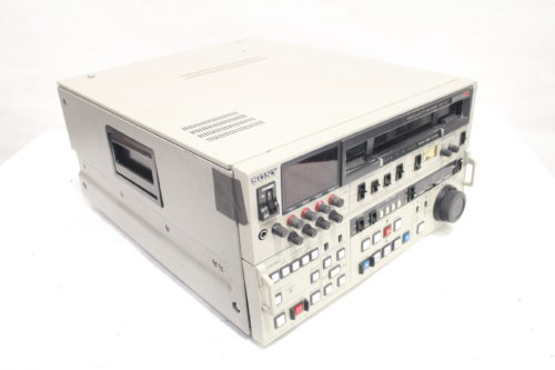 Sony BVW-75 BETACAM Videocassette Recorder SP Player w/ DTTop
