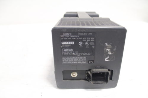 SONY BC-L100 Camcorder Battery Charger Back1