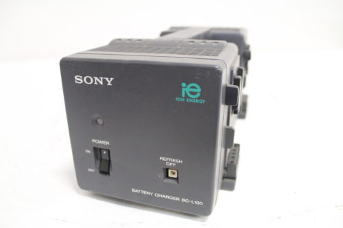 SONY BC-L100 Camcorder Battery Charger Front2