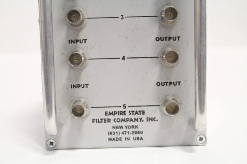Empire State Filter Co. Video & Ground Loop Hum Eliminator(Lot of 6) Bottom3