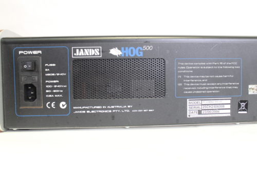 High End Systems Jands Hog 500 Light Console Back2