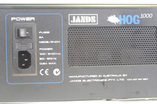 High End Systems Jands Hog 1000 Light Console Back2