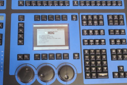 High End Systems Jands Hog 1000 Light Console Keypad1