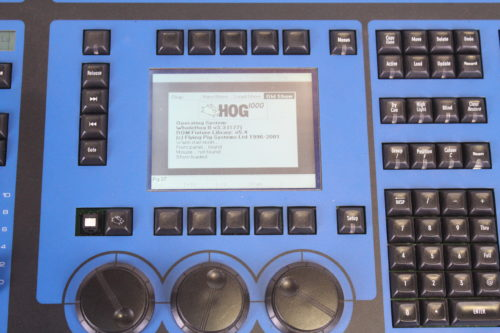 High End Systems Jands Hog 1000 Light Console (1b)Missing Button4