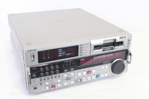 Sony DSR-2000 DVCAM Studio Editing Recorder (For Parts) Side2