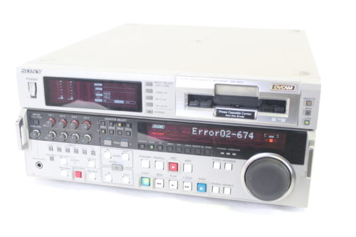 Sony DSR-2000 DVCAM Studio Editing Recorder (For Parts) Side1