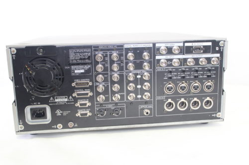 Sony DSR-2000 DVCAM Studio Editing Recorder (For Parts) Back4