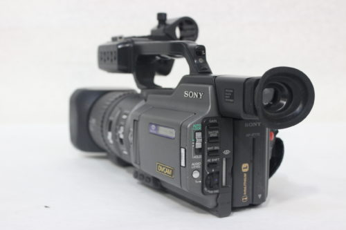 Sony DSR-PD150 3CCD Mini DVCAM Professional Camcorder w/ Road CaseBack1