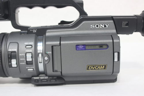Sony DSR-PD150 3CCD Mini DVCAM Professional Camcorder w/ Road CaseSide2