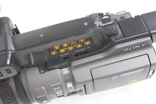 Sony DSR-PD150 3CCD Mini DVCAM Professional Camcorder w/ Road Case Top