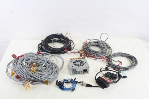 Game Show Mania GSS-4 Kit w/ Hit Buttons & LED Lighting cables