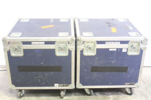 Game Show Mania GSS-4 Kit w/ Hit Buttons & LED Lighting cases1