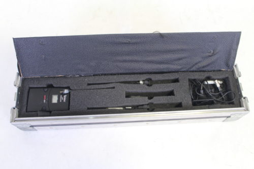 Telex S.A.F.E. 1000 - Encrypted UHF Handheld Microphone System with ND/767 Microphone (Band G) InCase