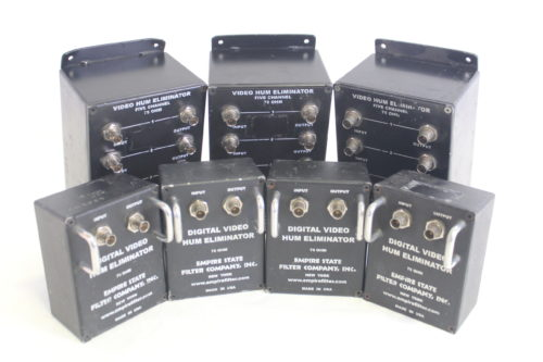 Empire State Filter Co. Video & Ground Loop Hum Eliminator(Lot of 7) main1