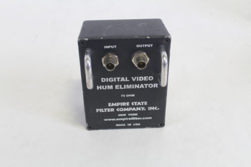 Empire State Filter Co. Video & Ground Loop Hum Eliminator(Lot of 7) front1