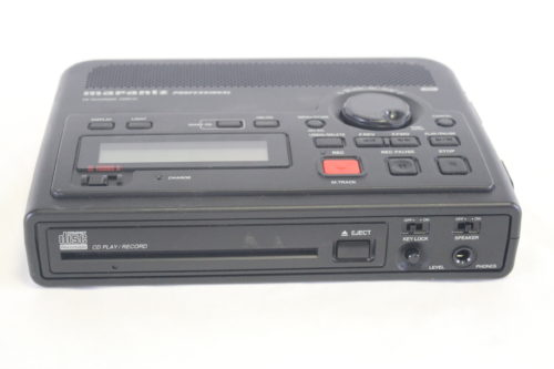 Marantz CDR310 Field Recorder with CD-DA/Wave/MP3 or AIFF Recording front1